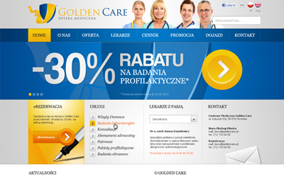 Golden Care - wersja alternatywna
